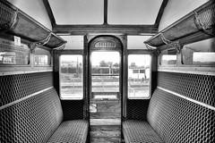 Dreadnought (R~P~M) Tags: uk greatbritain england train unitedkingdom buckinghamshire railway compartment bucks metropolitan coch quaintonroad