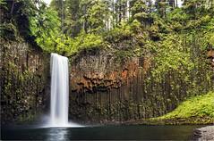 Abiqua Falls (Marty Rockatansky) Tags: oregon landscapes waterfalls abiqua