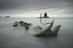 Saltwick Bay 4 (Andrew Whitham Photography) Tags: longexposure seascape water coast nikon yorkshire shipwreck lee whitby coastline manfrotto digitalphotography d800 lowepro amateurphotographer landscapephotographymagazine dalephotographic awhithamphotographycom