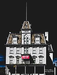 Eerie Opera House (Jay Mac 3) Tags: us unitedstates connecticut goodspeedoperahouse easthaddam topazbweffects topazrestyle topazglow