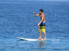 SUP (BarryFackler) Tags: ocean life sea man beach nature water ecology sunshine outdoors island hawaii polynesia bay coast seaside marine paradise pacific outdoor board paddle pacificocean coastal tropical bigisland aquatic boardshorts kane watersports paddling seashore sup kona saltwater 2015 hawaiianislands honaunau konacoast paddleboard hawaiicounty southkona hawaiiisland honaunaubay sandwichislands westhawaii standuppaddleboard barryfackler barronfackler