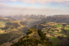 The Last Lookout Over the Ethiopian Mountains (departing(YYZ)) Tags: africa travel mountains landscape outside nationalpark dramatic canyon ethiopia sonnartfe35mmf28za