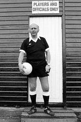 Roger Kirkpatrick (col-h) Tags: portrait celebrity history sport football referee soccer leicester personality liked respected informal aylestone matchofficial friarlaneoldboys rogerkirkpatrick