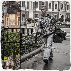 The Boy From Krakw (FotoFling Scotland) Tags: male bag poland krakw pixlr