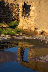 IMG_6740 (francois f swanepoel) Tags: sunrise reflections mud stonework karoo northerncape mudbricks noordkaap earlymorningsun nieuwoudtville karroo papkuilsfontein steenwerk