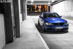 IMG_0992 (Joseph Hui (J_HUI)) Tags: blue canon euro bmw 1series stance x5 6d tigerclaw f4l e85 24105mm e87 135i jhui