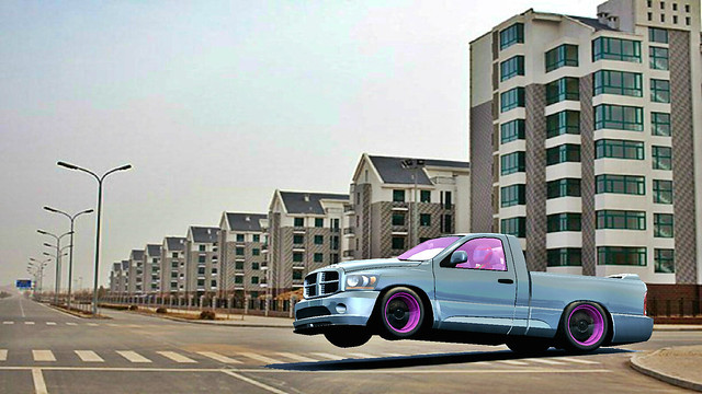 car drag x racing dodge ram drift
