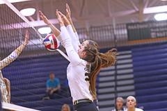IMG_8327 (SJH Foto) Tags: girls volleyball high school york delone catholic team teen teenager jump block