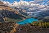 Peyto Perch (Philip Kuntz) Tags: bowsummit peytolake icefieldsparkway banff banffnationalpark lakes hikes alberta canada