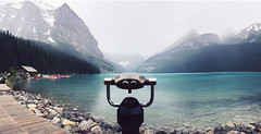 viewfinder (JasonLee) Tags: canada alberta banff nationalpark banffnationalpark nature outdoors snowcapped mountains snowcappedmountains hazy lake blue water clear louise secondsight