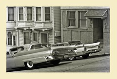 1960's San Francisco 1 (gpholtz) Tags: diorama miniatures 118 diecast continental markiii 1958