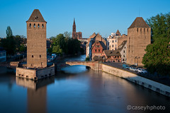 Two Towers - Strasbourg, France (N+C Photo) Tags: d800 europe france nikon strasbourg alsace french travel traveling traveler traveller travels photography nikkor adventure adventurer adventuring explore explorer exploring tourism tourist holiday nd neutral density filter long exposure slow shutter speed towers pontscouverts