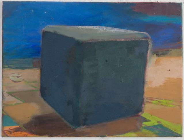 Eitempera-Öl auf Nessel, 30 x 40 cm, 2014