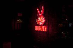 Neon Bunny (Victor Dvorak) Tags: neon funnybunny london england uk unitedkingdom nikon d300s 20mmf28d