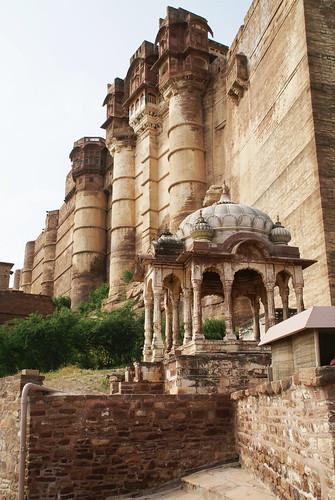Jodpur ( Rajastan )- Fort  Mehrangarh sec. XV