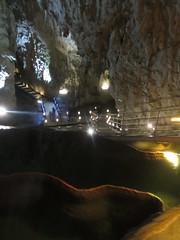 Travertine and stairs, Stopića Cave near Sirogojno, Serbia (Paul McClure DC) Tags: stopića cave sirogojno serbia srbija balkans zlatibor may2016 geology