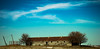 Old Barn (Daniel Ketchelos Photography) Tags: winter fall barn crisp blue sky clouds trees broken photography daniel ketchelos wires falling hills roof bricks wood rustic secluded landscape fields fence architecture panorama