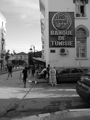 Intersection, Tunis.