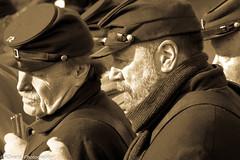 Formation (rowensphotography) Tags: 2016 60d americanhistory canon civilwar december georgemeade laurelhillcemetery newyearseve pennsylvania philadelphia birthday celebration outdoors reenactors winter