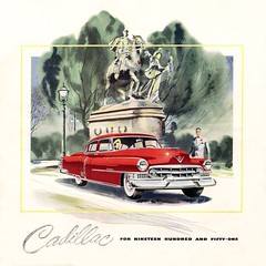 1951 Cadillac Fleetwood 4 Door Sedan (coconv) Tags: car cars vintage auto automobile vehicles vehicle autos photo photos photograph photographs automobiles antique picture pictures image images collectible old collectors classic ads ad advertisement postcard post card postcards advertising cards magazine flyer prestige brochure dealer 1951 cadillac fleetwood 4 door sedan 51 red series 60 art illustration drawing painting