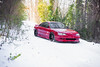 Snow Fun (brandonbowling) Tags: mazda mx6 lowered snow automotive