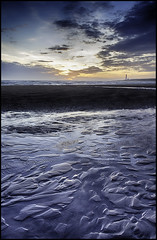 Midwinter Dawn at Montrose (Explored) (Aimless Alliterations) Tags: nikond7000 sigma1750mm uk scotland angus montrose beach scurdieness ocean sea northsea dawn sunrise midwinter sand