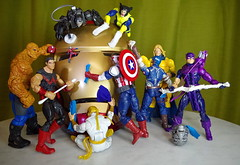 THE TWELVE AGES OF ULTRON -  THE ELEVENTH AGE (zero g) Tags: ultron ageofultron avengersageofultron josswhedon actionfigures marvelcomics mcu thething bengrimm wonderman simonwilliams antman scottlang hankpym ironfist dannyrand captainamericasamwilson captainamericasteverogers chrisevans warmachine jamesrhodes avengers tonystark ironman robertdowneyjunior sentry robertreynolds hawkeye clintbarton tsumtsum spiderman armor armour helmet tabletop robjan robertjan zerog wolverine logan melbourne australia victoria cleaners polish toys