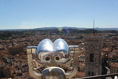 Florence (Duncan-S) Tags: florence sky sun cattedrale di santa maria del fiore giottos bell tower cathedral reflection views binoculars skyline roof tops rooftops