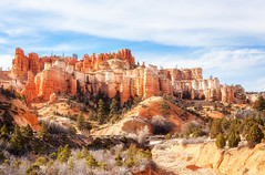 Water Canyon (danielacon15) Tags: utah bryce nationalpark brycecanyon usa water canyon landscape like castle naturalmonuments rock formations travel americansouthwest nature