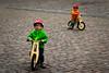 What's up? (rgreen_se) Tags: angles bike child children city geneva lines people stone street switzerland walking