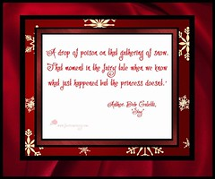 Quote - Deb Caletti, 'Stay' (Faerie Nursery) Tags: poison snow fairy fairytale princess author quote blood story book books read red white snowflakes winter season cold evil prince