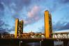 M3 Serenar 003 (reed.john51) Tags: california sacramento bridge towerbridge metal steel sky clouds gold leica leicam3 canonserenar28mm film winter