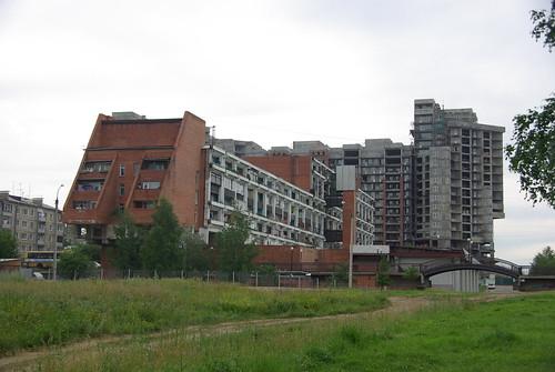 Irkutsk_Oblast Irkutsk Marshala Zhukova Avenue 1A ©  trolleway