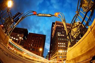 Gothic Metra Stop