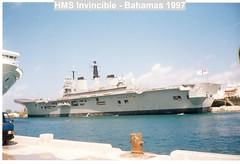HMS Invincible - Bahamas 1997