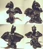 BlackKnight (thyladyinred) Tags: sculpture art dragon figurines fantasy clay sculpey