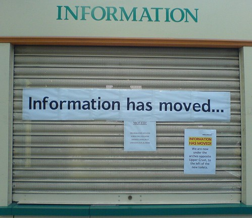 Information has moved... by choffee, on Flickr