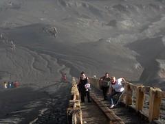 Mount Bromo - Java, Indonesia (trent_maynard) Tags: indonesia volcano climb java asia steps southeast surabaya bromo mountbromo