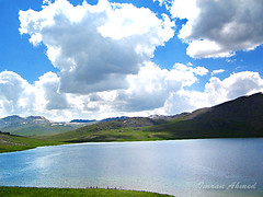 Sheosar Lake @ Deosai (Aawara) Tags: nature beauty kashmir deosai sheosar sheosarlake deosaiplains