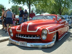 Red Merc (bigfuzzyjesus) Tags: car hotrod lowrider streetrod backtothe50s