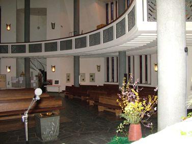 Kreuzkirche Kassel - Blick vom Altar