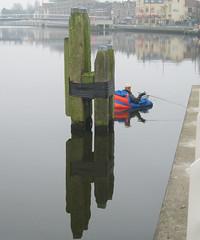 Kanaalvisser (Emil de Jong - Kijklens) Tags: reflection fishing visser kanaal alkmaar vis noordholland reflectie noordhollands