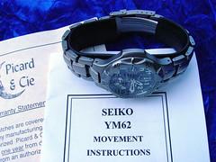 Picard & Cie Titanium Chronograph (jwinfred) Tags: watches watch titanium chronograph chrono