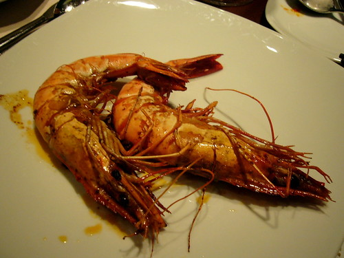 tiger prawns:: buffet at congress (HK)
