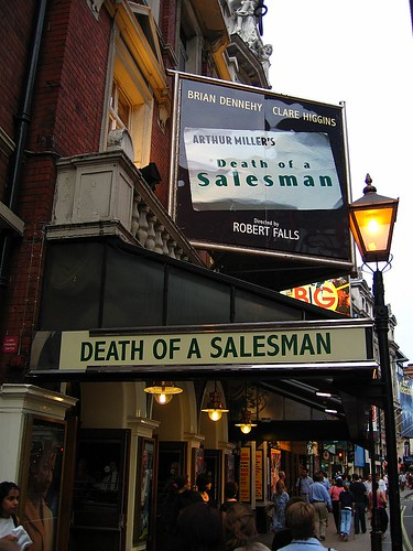 Death of a Salesman by Frank Hangler.