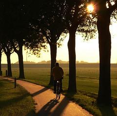 Almost there (andzwe) Tags: sunset copyright holland netherlands dutch bike bicycle photography fotografie photos pics © nederland fotos biking reza nederlands fietsen overijssel fiets lonesome biketrip andzwe ©andzwe richtingblokzijlvanafsteenwijk steenwijkerweg