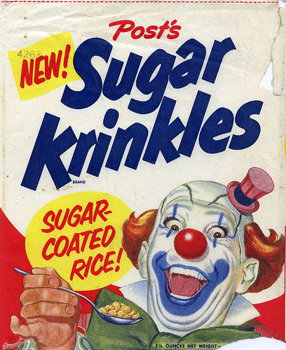 Sugar Krinkles cereal box / Dan Goodsell