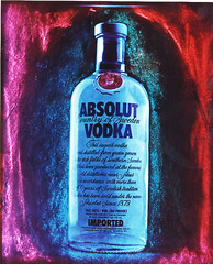 Absolut Positive (etravus) Tags: glass finland advertising interestingness bottle flickr experimental drink papernegative 8x10 commercial alcohol travis largeformat neg sinar absolutevodka travisprice 8x10large formatexperamentalpaper etravus