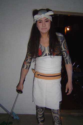 Japanese gangster tattoos II / 入墨2