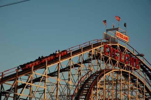 Cyclone Late on Opening Day